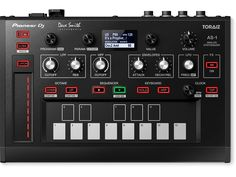 主要機能を探す Pioneer DJ TORAIZ AS-1, MONOPHONIC ANALOG SYNTHESIZER (black)