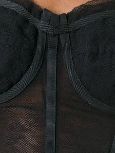 Dolce & Gabbana Corpette de tule Corset Tutorial, Moda Rock, Corset Underwear, Couture Sewing Techniques, Costura Fashion, Corset Pattern, Dolce E Gabbana, Fashion Project, Fashion Sewing