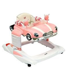 pink car walker....love this! If GK ever had a kid, she would SO buy this for them!