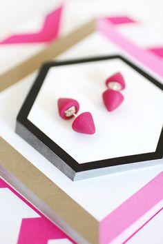 MY DIY | Double-Sided Spiked Earrings | I SPY DIY