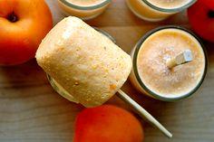 Apricot Yogurt Popsicles