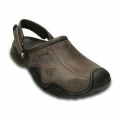 764efa615c60 Crocs SwiftWater Men s Clogs - choose colors - (Sale Savings) Leather  Clogs