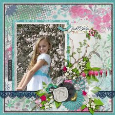 Made with Just Bloom by #A-MandaCreation #digitalscrapbooking #thestudio