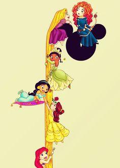 me: tangled Nys:sleeping beauty LOL: brave yoey: areial leiana: beauty and the beast bree:alladin