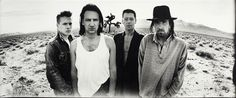 U2, Death Valley, 1986 - by Anton Corbijn