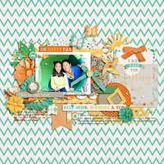 happiness is - sunny days by tickled pink studio & meghan mullens template may challenge by tickled pink studio
