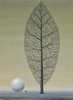 Galerii de arta: René Magritte (21 noiembrie 1898 – 15 august 1967), pictor suprarealist belgian