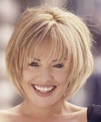 Image result for short hairstyles for senior ladies, thin, fine gray hair
