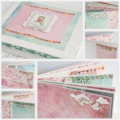 Album w pudełku dla Amelki
