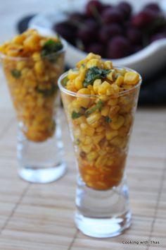American Masala Sweet Corn Chaat