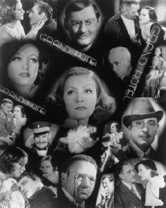 """""""Grand Hotel"""" with an all-star ensemble cast.  I wasn't sure what to make of the drama when first I watched it, but it's fascinating to watch and this is one of my go-to movies for classic silver screen."""