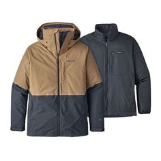 Versatility at its best, the Patagonia Men's Snowshot Jacket can be worn as a shell, light insulation or as a waterproof, insulated jacket. Ski And Snowboard, Outdoor Outfit, Patagonia, Skiing, The North Face, Rain Jacket, Windbreaker, Jackets, Men