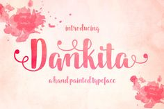 Dankita Script ~ Script Fonts on Creative Market
