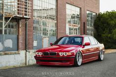 Never Enough – Scott Johnson's Quest to Build the Ultimate BMW Bmw E46 Sedan, Bmw 740, Scott Johnson, Bmw M Series, E 38, Bmw Alpina, Classy Cars, Bmw Cars, Car Photography