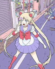 Sailor Pluto, Sailor Moon Art, Sailor Jupiter, Sailor Moon Crystal, Sailor Venus, Sailor Mars, Anime Manga, Anime Art, Hiro Big Hero 6