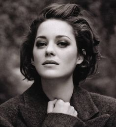 If I could choose to look like someone else it would be Marion Cotillard. She is so European and chic. Love her!