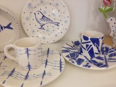 Maybe Dad is a rower?  How about one of these handpainted ceramics from Roelofs & Rubens?