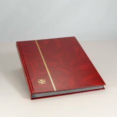 Lighthouse Hardcover Stamp Album Stockbook With 32 Black Pages, Red, Stamp Collecting, Lighthouse, Album, Hobbies, Red, How To Make, Contents, Ebay, Stamps