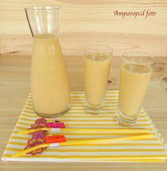 Dulcísimos Placeres: Batido de naranja, zanahoria y kiwi (Repetición)