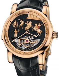 Ulysse Nardin | Alexander the Great Minute Repeater Westminster Carillon Tourbillon Jaquemarts | Red Gold | Banco de Dados de Relogios | watchtimebrasil.com.br
