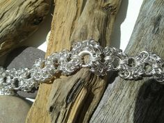Chain maille wave design, by butterfly summer.