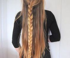 Find images and videos about hair, blonde and long hair on We Heart It - the app to get lost in what you love. Down Hairstyles, Pretty Hairstyles, Braided Hairstyles, Hairstyle Ideas, Makeup Hairstyle, Unique Hairstyles, Hairstyles Haircuts, Love Hair, Gorgeous Hair