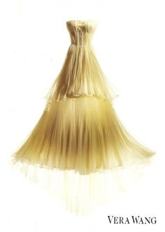 wow yellow wedding dress