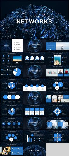 This beautiful blue Network presentation template is designed for those who are looking for templates that fulfills their specific industrial needs. If you need presentation templates for IT industry or business. Powerpoint Templates Download, Professional Powerpoint Templates, Creative Powerpoint Templates, Powerpoint Presentation Templates, Keynote Template, Flyer Template, Ppt Design, Slide Design, Keynote Design