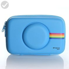 Polaroid Eva Case for Polaroid Snap & Snap Touch Instant Print Digital Camera (Blue) - Dont forget to travel (*Amazon Partner-Link)