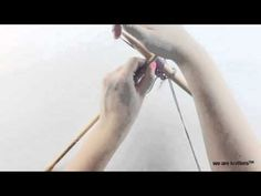 How to knit with two different needles  - Knitting tips