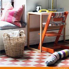 Lava Orange Stokke Tripp Trapp  #socialcircus