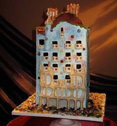 Amazing Wedding Cakes Barcelona Gaudi cake by Cake Alchemy