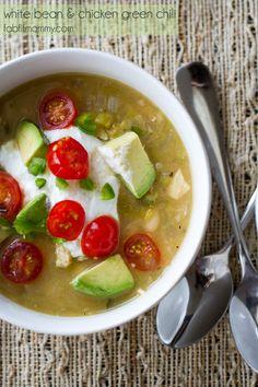 White Bean & Chicken Green Chili