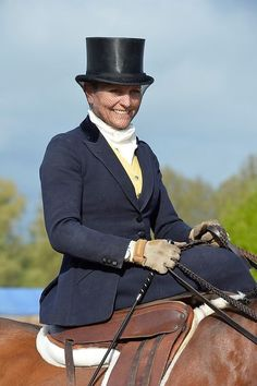 Ladies Hunter class at The Royal Windsor Horse Show 2013.