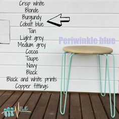 Periwinkle blue goes with...