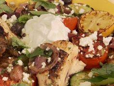 Butterflied Chicken Greek Style Recipe
