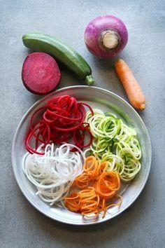 Gemüsenudeln für Low carb Fans