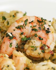 Spaghetti Squash Shrimp Scampi Recipe by Tasty