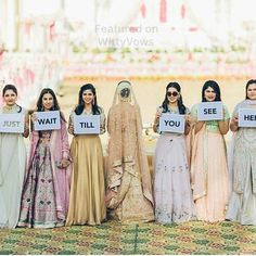 99471274 Wedding Photography - desiring for fantastic pictures on capturing that beautiful weddi… Indian Wedding Photography Poses, Bride Photography, Couple Photography Poses, Fashion Photography, Bridesmaid Poses, Indian Bridesmaids, Bridal Poses, Bridal Photoshoot, Bride Entry