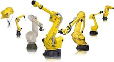 Those Highly Capable Yellow Robots – FANUC Robots