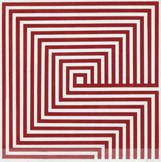 Mario Ballocco, Distruzione figurale per assimilazione in verticale, 1965 •