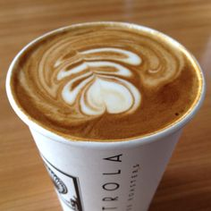 Victrola Coffee | Perfect latte from Victrola Coffee.