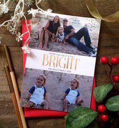 Making Seasons Bright/ Christmas Card/ Art Paper Scissors Glue