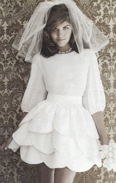 Alternative Wedding Dress  The Boo'tique This Week will be pinning  contemporary & Alternative BRIDAL GOWNS-DRESSES ~~WITH A  CUTTING EDGE THEME away from traditional stuffy Wedding dresses WEDDING STYLES ~~ FOR THE BRIDE WHO IS LOOKING FOR SOMETHING DIFFERENT!