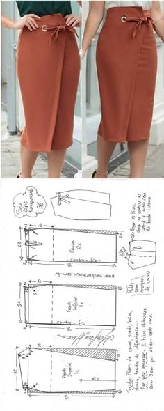 Amazing Sewing Patterns Clone Your Clothes Ideas. Enchanting Sewing Patterns Clone Your Clothes Ideas. Sewing Clothes Women, Diy Clothes, Clothes For Women, Tunic Sewing Patterns, Clothing Patterns, Pattern Sewing, Pattern Skirt, Dress Patterns, Sewing Dress