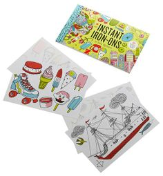 Chronicle Books Iron-On Accessories for Kids - Julia Rothmann, Suzie, Mike Perry, and Gamago. Se them all at