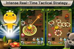 Plants War.Plants War is simply an amazing strategic war game. Players will find themselves hopeless addicted to advancing towards the next stage or even trying to obtain another Leafy unlock-able character.Protect the last source of life on Earth!  Beasts have invaded Dryad Forest. In order to defend their home, the plants of the forest must extract the power of Lake Naiad to become Heroes in this epic battle for land.