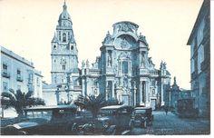 POSTAL MURCIA .- CATEDRAL FACHADA ROISIN NÚM 2 (Postales - España - Murcia Antigua (hasta 1.939))