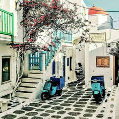 ✴ Mykonos, Cyclades, Greece...