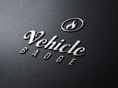 Dribbble - Vehicle Badge Mock-Up by Benjamin Kalic